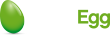 green egg media reverse logo