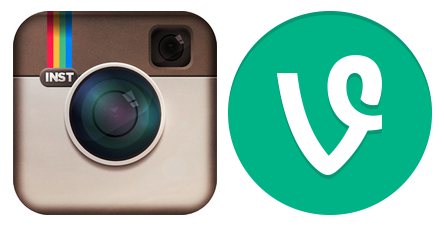 Visual Engagement with Instagram and Vine
